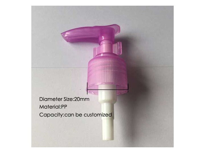 Dispenser lotion pump